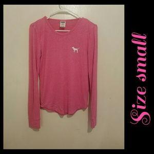 VS PINK Long Sleeve Shirt Size Small